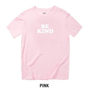 """The Phluid Project Pink Tee Shirt """"Be Kind"""""""